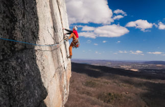 Rock Climbing in the Gunks