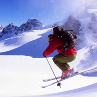 Backcountry Skiing at the Burnie Glacier Chalet