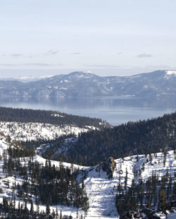 squaw valley skiing traverse