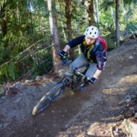 Downhill in Squamish