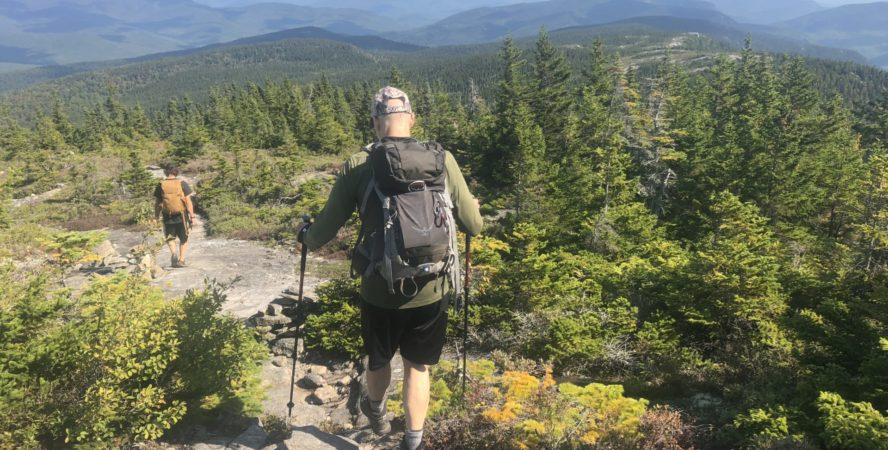 hiking trails at White Mountains