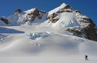 Backcountry Skiing at Burnie Glacier