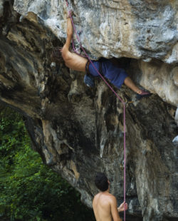 Rock Climbing in Railay and Tonsai