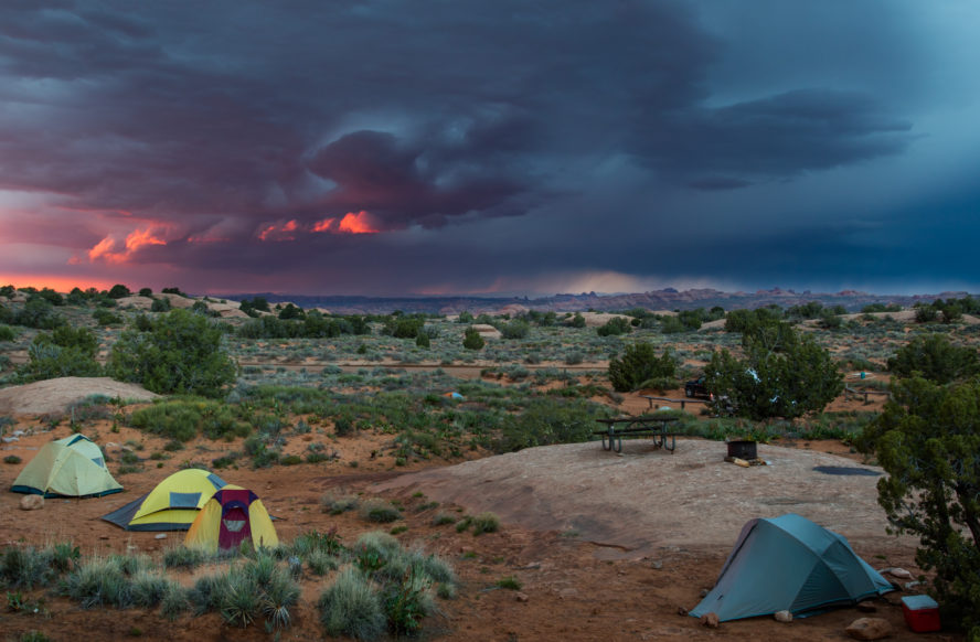 Canyonlands National Park camping