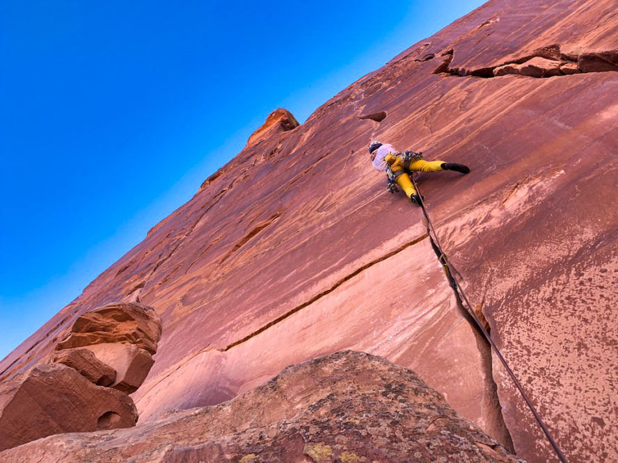Maverick Rock Climbing